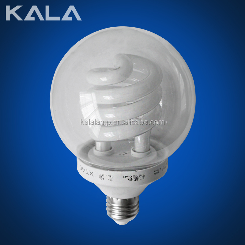 Ball half spiral 7-250W energy saving lamp or energy saving bulbs