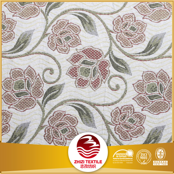 Jacquard polyester cotton outdoor fabric for curtain
