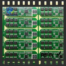 layout rigid fabrication 3.7v 2a led display bms/pcb/pcm 1series 18650 pcb board