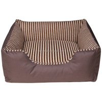 Factory supply hotsell non-removable square bed fancy dog beds