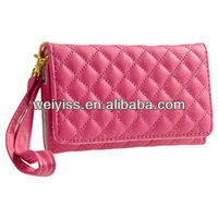Professional Hand Sewn Hot Selling Wallet Case for iPhone 5 OEM