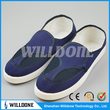 ESD canvas shoes Cleanroom shoes