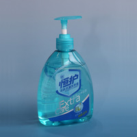 Liquid hand soap with high disfection effect