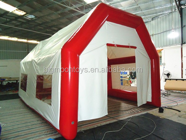 commercial inflatable hospital tent, inflatable emergency tent, giant inflatable tent