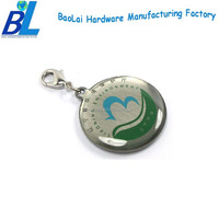 Epoxy coating offset printing double dorje pendant