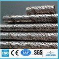 spiral welded tube / stainless steel spiral perforated tube ( ISO9001& factory )