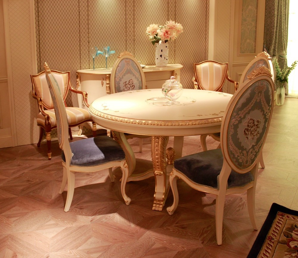 Wholesale Luxury Dubai 5 Star Hotel Dinning Table And