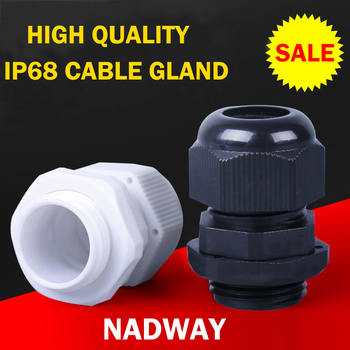 IP68 waterproof plastic pg nylon cable gland