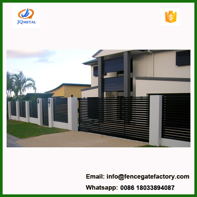 commercial cantilevered iron sliding gate for sale