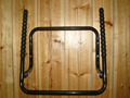 Wall mounted two Foldable Bicycle Racks