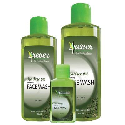 Tea Tree Oil Foaming Face Wash