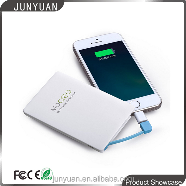 Promotional Gift 2500mAh Credit Card Power Bank