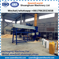 Factory outlets Wood Sawdust Packing Machine with CE certificate