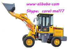 1.0 ton tractor machine wheel loader, hot sale small earth moving machine