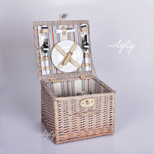 Wholesale small wicker picnic basket easter basket for sale