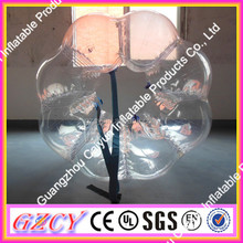 High Transparent Durable Body Bumper Ball Soccer Bubble For Footabll