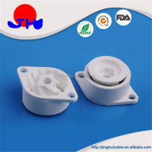 High quality machined alumina ceramic coffee conical burr part