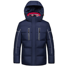 GZH1601 Newest design canada name waterproof windproof goose winter clothes for men