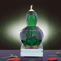 Beautiful green calabash decorations calabash crafts
