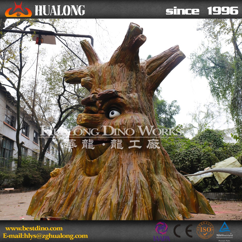 Theme Park Funny Talking Tree for sale