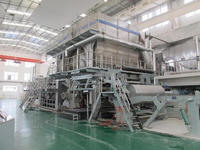 Manufacture of 2880mm Fourdrinier Wire Single Cylinder Toilet Tissue Paper Making Machine for 20tons Per Day