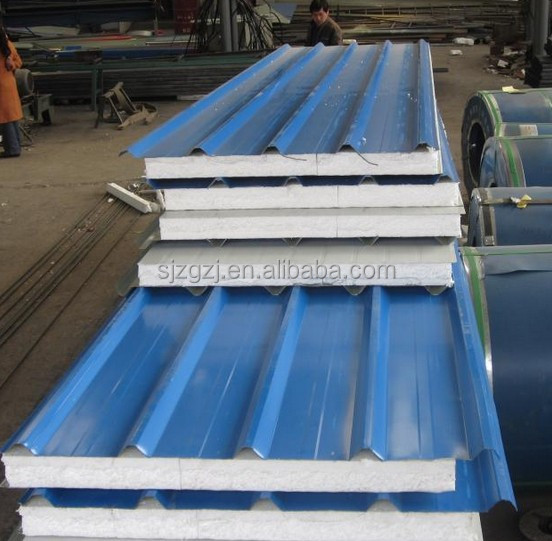 sanwich panels foam wall panels prefabricated sandwich panel garage