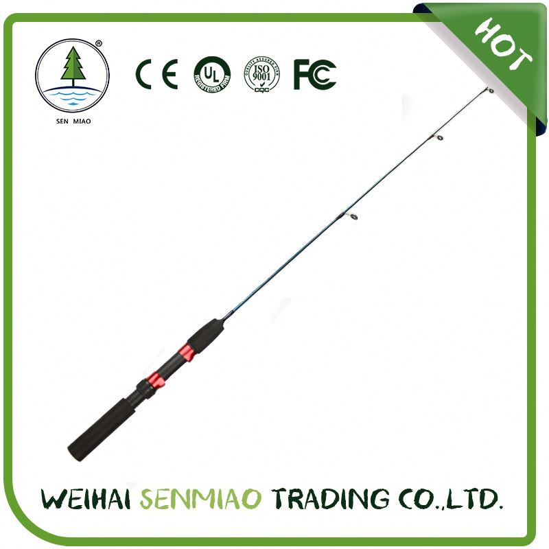 Fiberglass Solid Rod wholesale Fishing Tackle / Ice Fishing Rod
