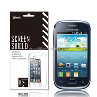 Popular products! screen protector film for Samsung galaxy young s6310 oem/odm(Anti-Fingerprint)
