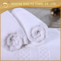 durable 21double yarn white towel