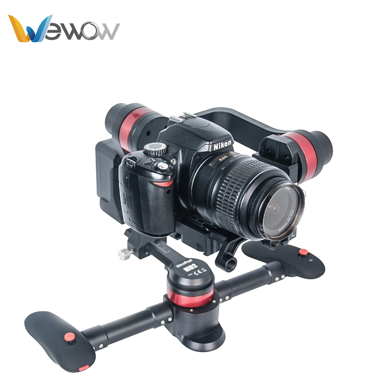 Wewow Hot selling handheld gimbal 3-axis dslr stabilizer for camera steadycam