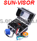 Newest 50m underwater fishing camera with monitor, sun-visor CP110-7LS
