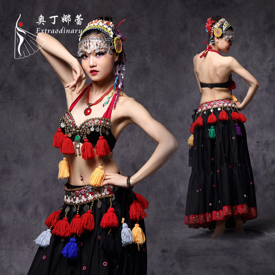 Wholesale American Tribal Style Belly Dance Costume ATS Costume For Sale