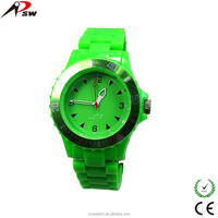 Colorful unisex plastic promotion gitf watch