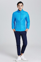 2015 new polyester men down clothing for winter
