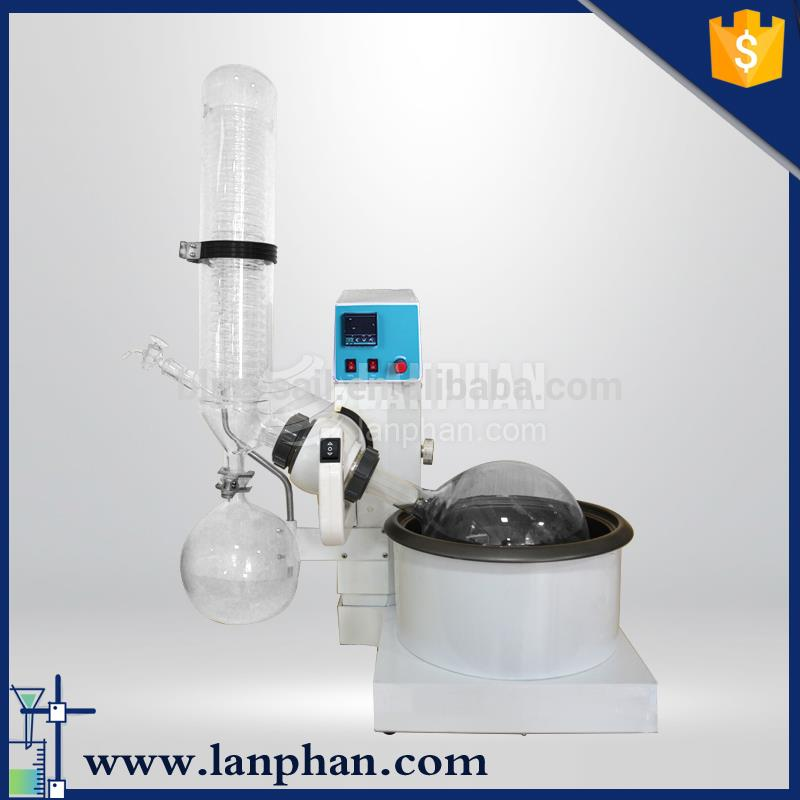new fashion hot pilot scale 5l rotary evaporator for herbal extract distillation