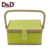 D&D Handmade container homes products gift sewing baskets suitcase high quality sewing box