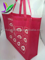 Hot selling nonwoven grocery bag, customized non woven bag, pp woven bag for advertizement/promotion