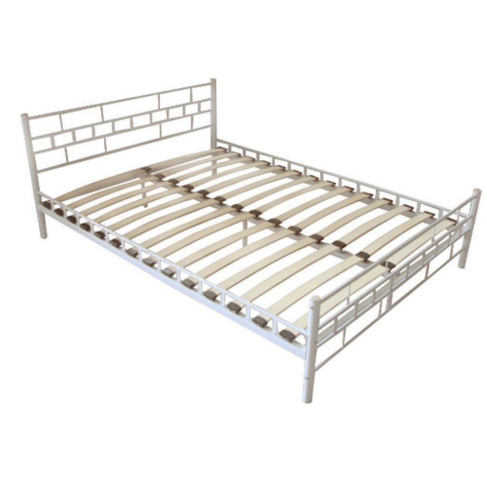 Simple Modern Metal Beds : Modern simple metal frame bed cheap double bed, View Modern Bedroom ...