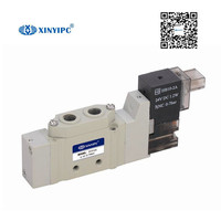 5V3000/5000 Series Solenoid valve Aluminum alloy Pneumatic control valve,low power mini guide valve