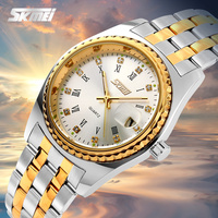 Waterproof alloy cheap gold watches for men luxury design men quartz watch