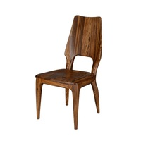 New Design Luxury European Style Comfortable Restaurant Wooden Dining Chairs