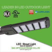 Popular 300W led pole light, led parking lot light, led street light 300w with UL DLC approved