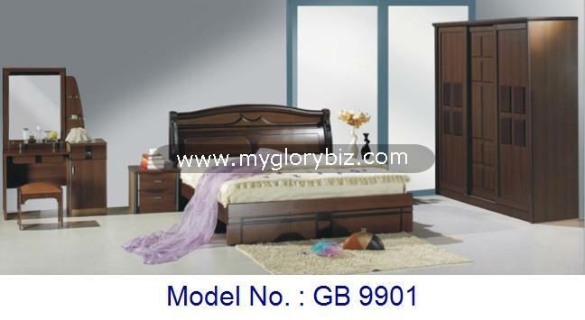 Basic Bedroom Sets Wooden MDF Furniture In Simple Elegant Style, modern bedroom set furniture, cheap mdf bedroom sets designs