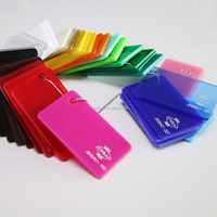 high glass competitive price clear/color acrylic sheet