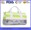 New design tote travel bags with sequin fabric Oem fashion new design travel bags with tote