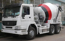 SINOTRUK 6*4 mixer truck 8 cubic meters used concrete mixer for sale