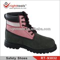RIGHTTOOLS RT-93032 Genuine Leather High ankle safety shoes