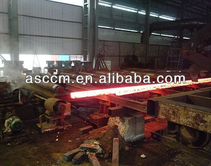 2 strands continuous casting machine for steel billet