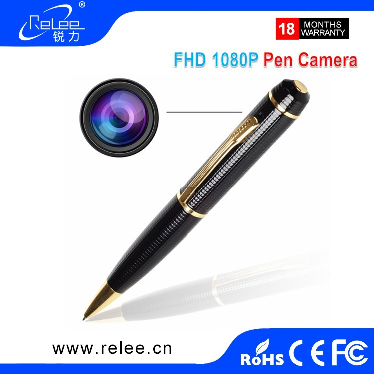 china wholesale full HD 1080P spy pen camera hidden camera with fashion design
