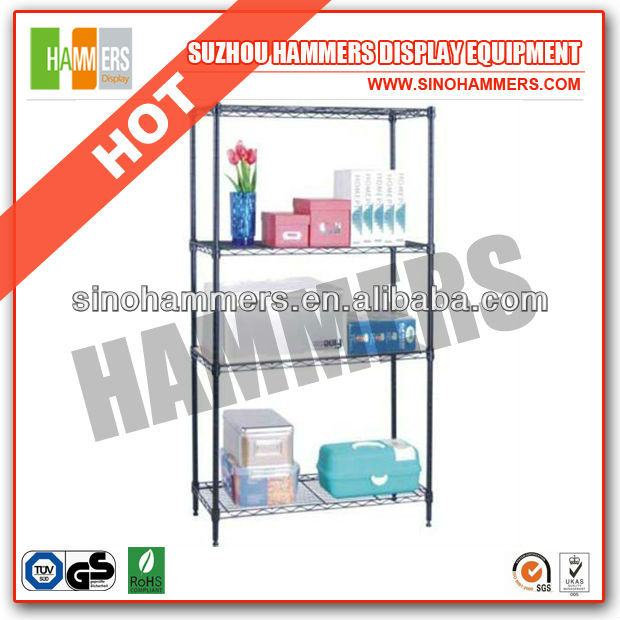 bathroom wire shelving for supermarket home use